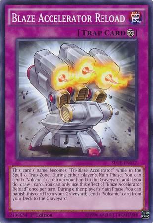 Blaze Accelerator Reload (#SECE-EN077)