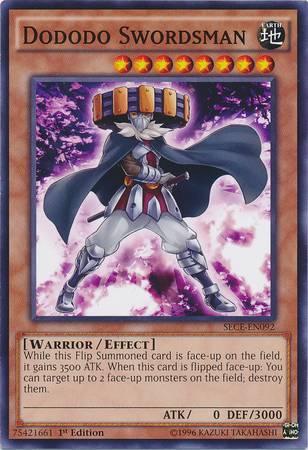 Dododo Swordsman (#SECE-EN092)