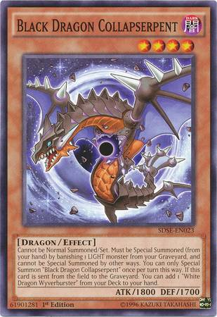 Black Dragon Collapserpent (#SDSE-EN023)