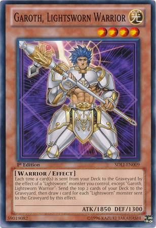 Garoth, Lightsworn Warrior (#SDLI-EN009)