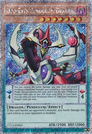 Odd-Eyes Pendulum Dragon (#CT12-EN001)