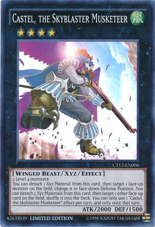 Castel, the Skyblaster Musketeer (#CT12-EN006)