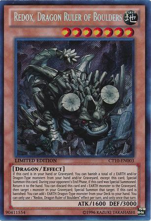 Redox, Dragon Ruler of Boulders (#CT10-EN003)