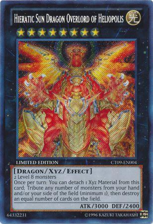 Hieratic Sun Dragon Overlord of Heliopolis (#CT09-EN004)