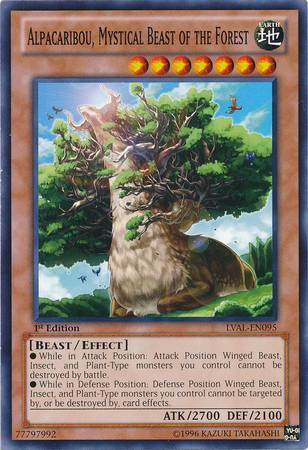 Alpacaribou, Mystical Beast of the Forest (#LVAL-EN095)