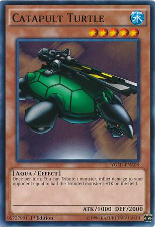 Catapult Turtle (#YGLD-ENA08)