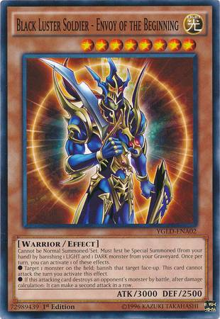 Black Luster Soldier - Envoy of the Beginning (#YGLD-ENA02)