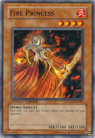 Fire Princess (#GLD1-EN005)
