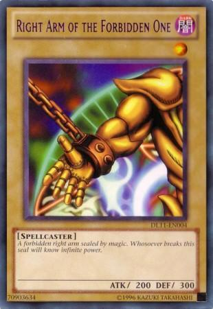 Right Arm of the Forbidden One (#DL11-EN004)