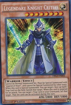 Legendary Knight Critias (#DRL2-EN002)