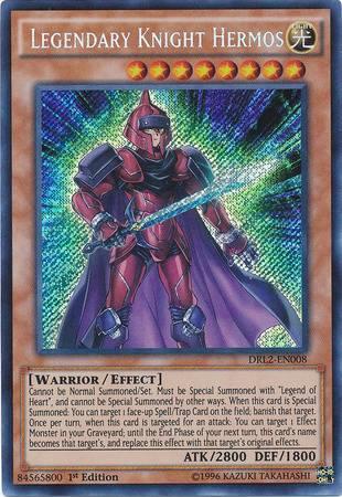 Legendary Knight Hermos (#DRL2-EN008)