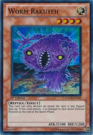 Worm Rakuyeh (#HA02-EN055)