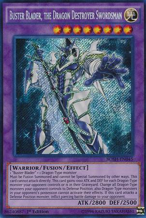 Buster Blader, the Dragon Destroyer Swordsman (#BOSH-EN045)