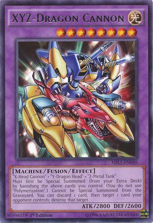 XYZ-Dragon Cannon (#MIL1-EN040)