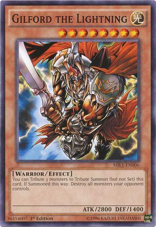 Gilford the Lightning (#MIL1-EN006)