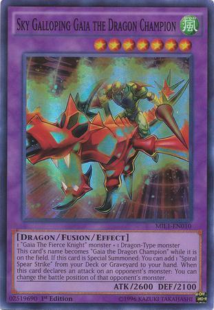 Sky Galloping Gaia the Dragon Champion (#MIL1-EN010)