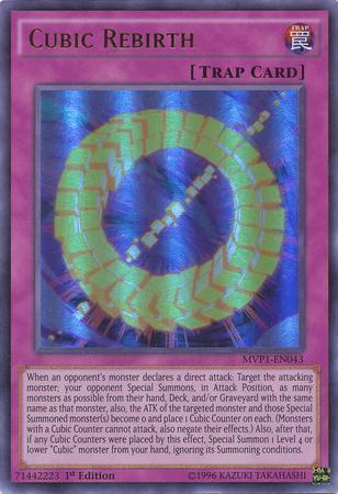 Cubic Rebirth (#MVP1-EN043)