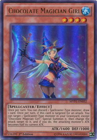 Chocolate Magician Girl (#MVP1-EN052)