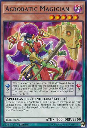 Acrobatic Magician (#TDIL-EN009)