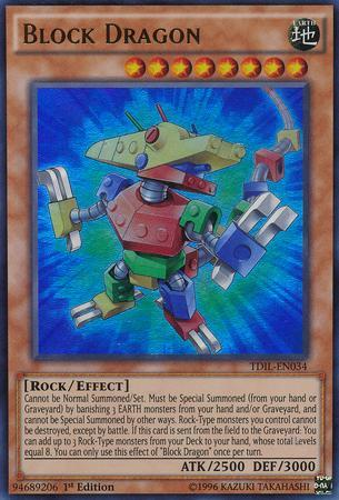 Block Dragon (#TDIL-EN034)