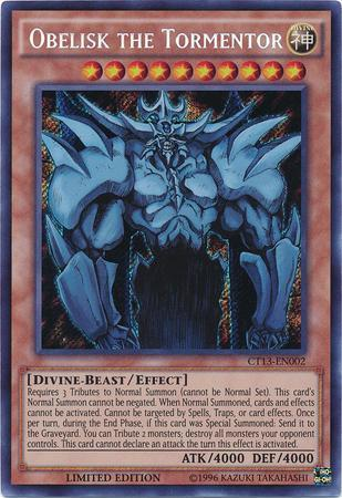Obelisk the Tormentor (#CT13-EN002)