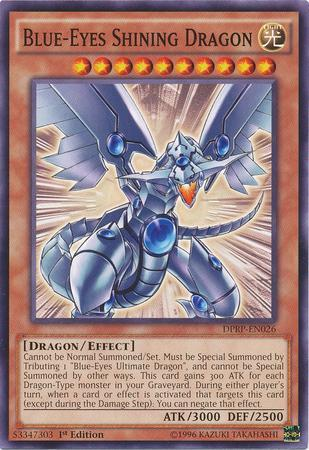 Blue-Eyes Shining Dragon (#DPRP-EN026)