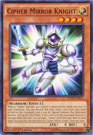 Cipher Mirror Knight (#INOV-EN011)