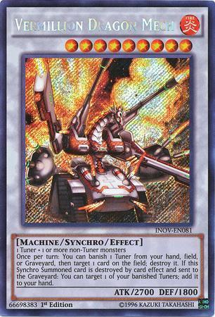 Vermillion Dragon Mech (#INOV-EN081)