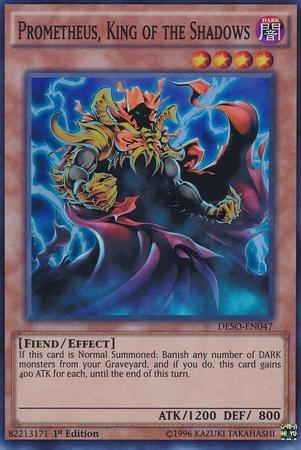 Prometheus, King of the Shadows (#DESO-EN047)