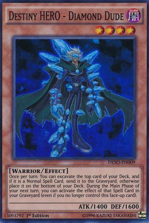 Destiny HERO - Diamond Dude (#DESO-EN009)