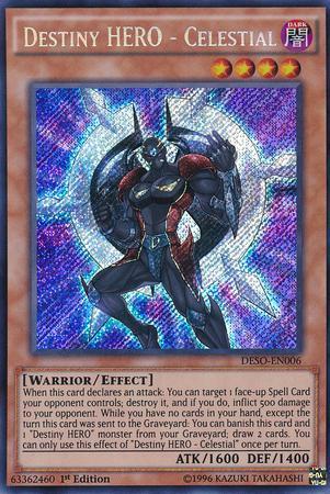 Destiny HERO - Celestial (#DESO-EN006)