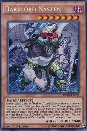 Darklord Nasten (#DESO-EN032)