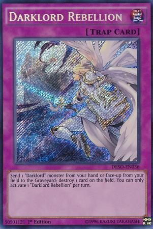 Darklord Rebellion (#DESO-EN036)