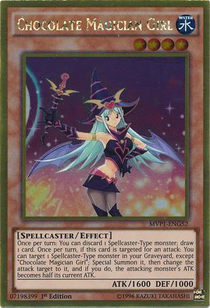 Chocolate Magician Girl (#MVP1-ENG52)