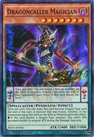 Dragoncaller Magician (#RATE-EN001)