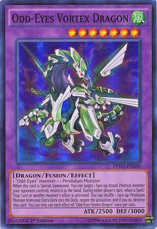 Odd-Eyes Vortex Dragon (#PEVO-EN030)