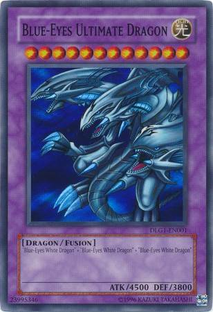 Blue-Eyes Ultimate Dragon (#DLG1-EN001)