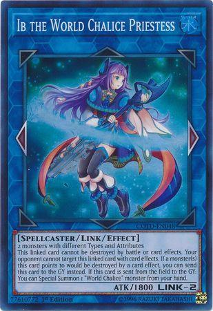 Ib the World Chalice Priestess (#COTD-EN048)