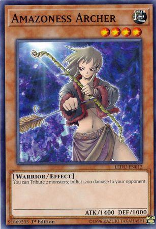 Amazoness Archer (Updated from: Amazon Archer)