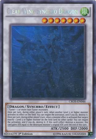 Clear Wing Synchro Dragon (#CROS-EN046)