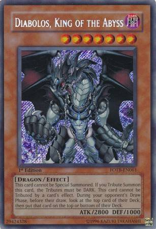 Diabolos, King of the Abyss (#FOTB-EN061)