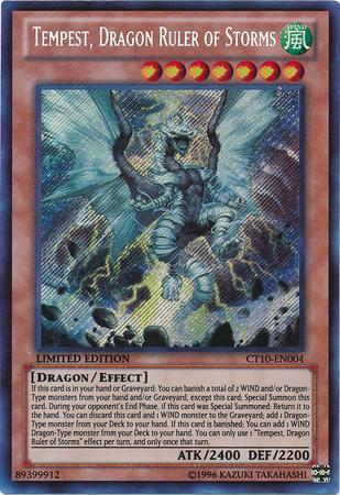 Temporal, Dragão Soberano das Tempestades (#CT10-PT004) / Tempest, Dragon Ruler of Storms (#CT10-EN004)