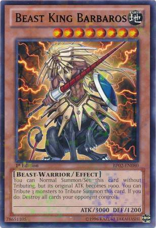Beast King Barbaros (#BP02-EN080)