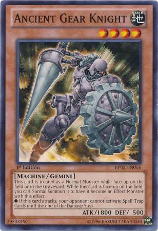 Ancient Gear Knight (#BP02-EN056)