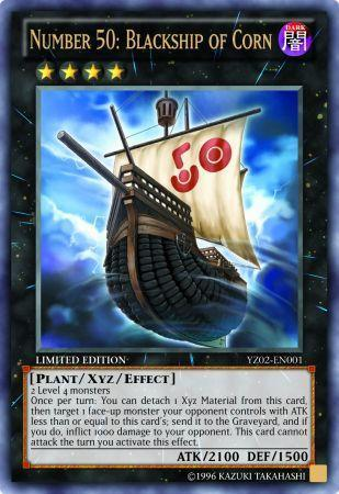 Number 50: Blackship of Corn (#YZ02-EN001)