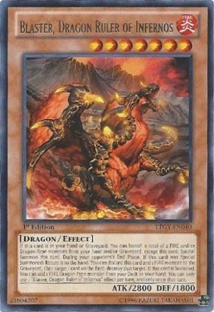 Blaster, Dragon Ruler of Infernos (#LTGY-EN040)