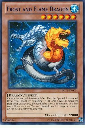 Frost and Flame Dragon (#DL15-EN005)