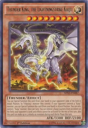 Thunder King, the Lightningstrike Kaiju (#SHVI-EN087)