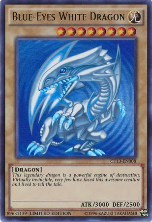 Blue-Eyes White Dragon (#CT13-EN008)