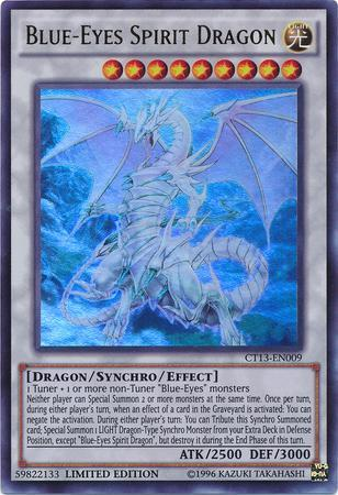 Blue-Eyes Spirit Dragon (#CT13-EN009)